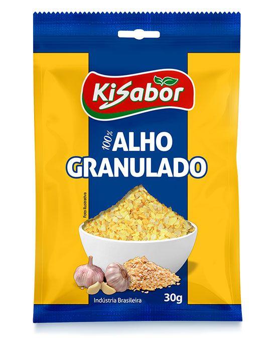 Alho Granulado Kisabor