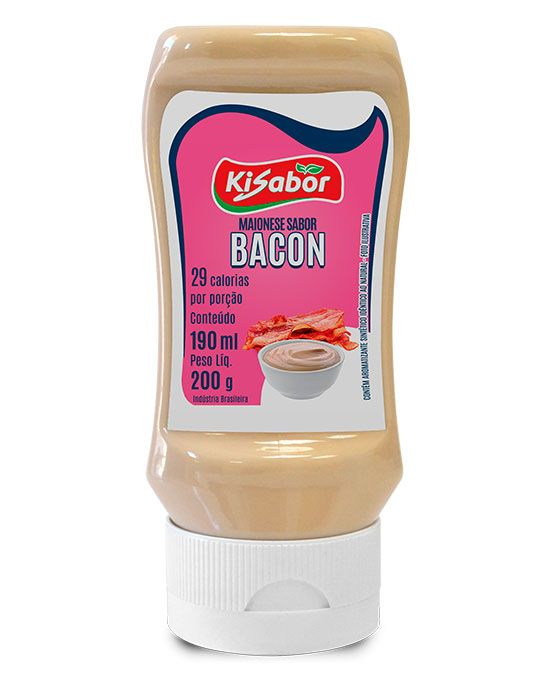 Maionese sabor Bacon