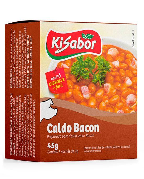 Caldo de Bacon em Pó