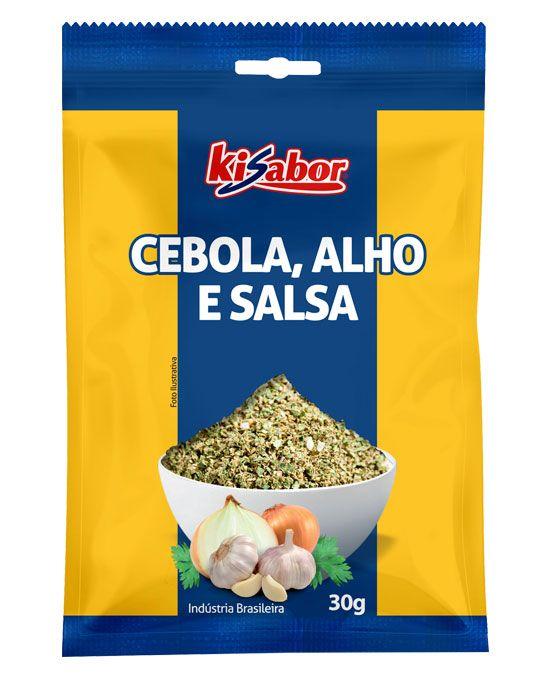 Cebola, Alho & Salsa Kisabor