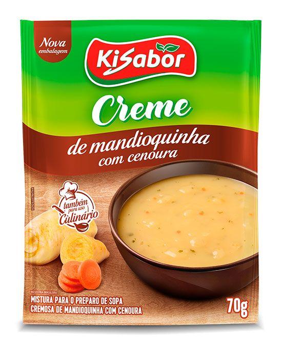 Creme Mandioquinha com Cenoura