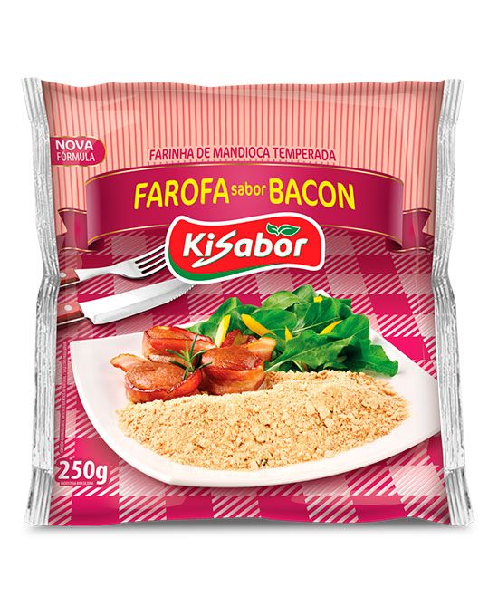 Farofa sabor Bacon
