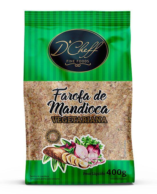 Farofa de Mandioca Vegetariana D'Cheff