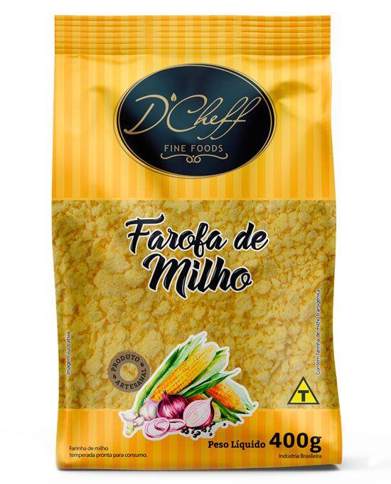 Farofa de Milho D'Cheff