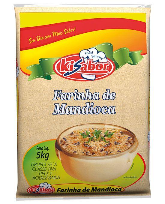 Farinha de Mandioca Food Service