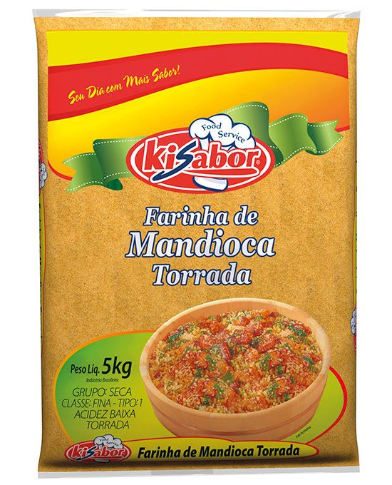 Farinha de Mandioca Torrada Food Service