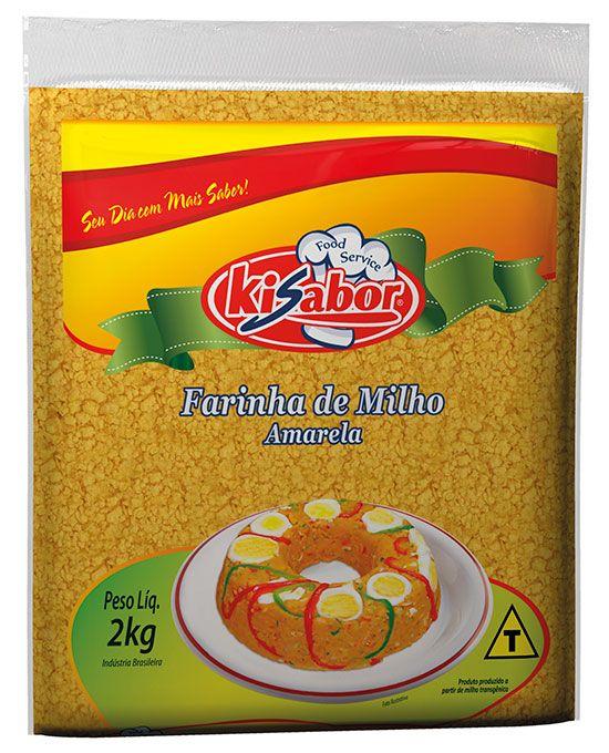 Farinha de Milho Amarela Food Service