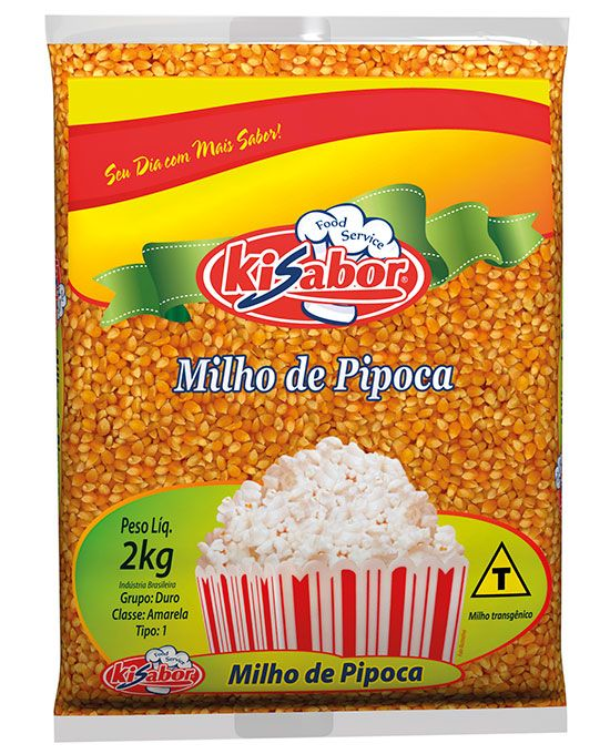 Milho de Pipoca Food Service