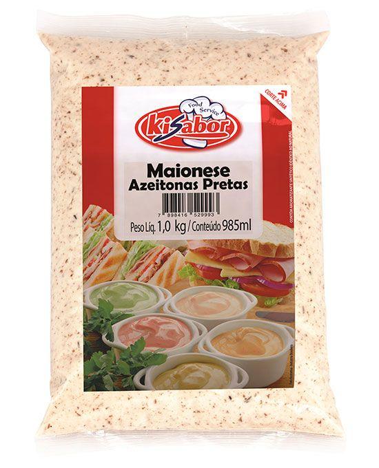 Maionese Azeitonas Pretas Food Service