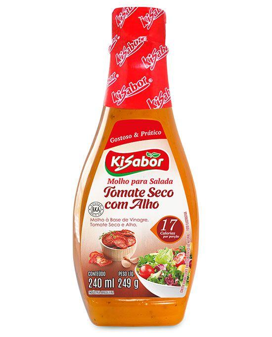 Molho para Salada Tomate Seco com Alho