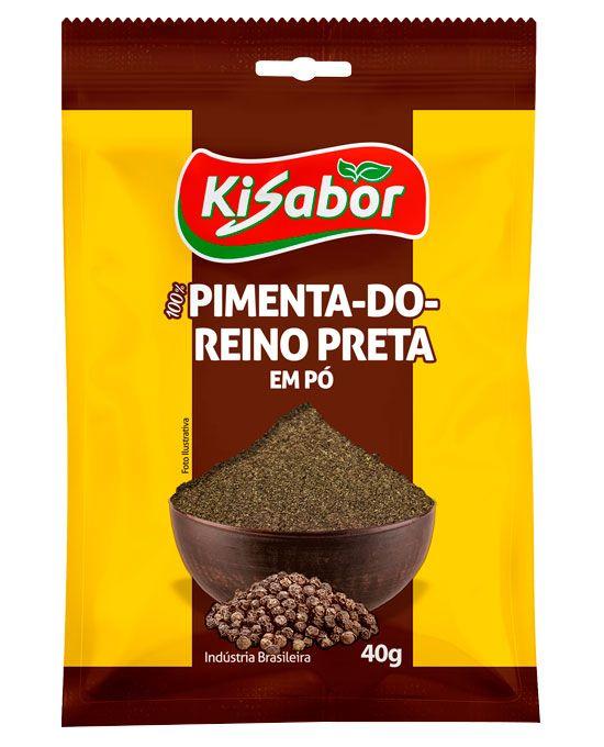 Pimenta-Do-Reino em Pó Kisabor