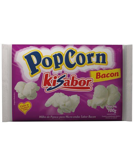 Pipoca para Micro-ondas Bacon