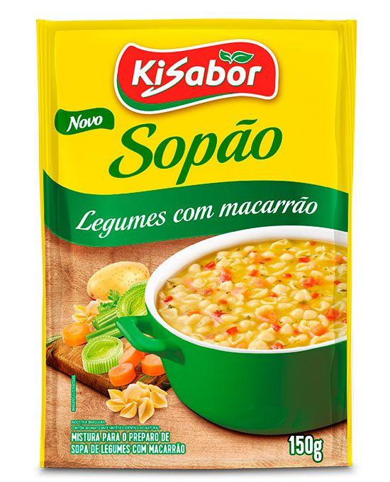 Sopão de Legumes com Macarrão