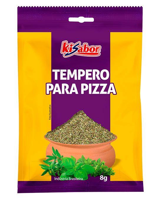 Tempero para Pizza Kisabor