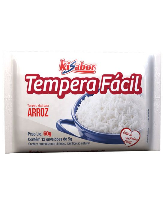 Tempera Fácil Arroz Branco