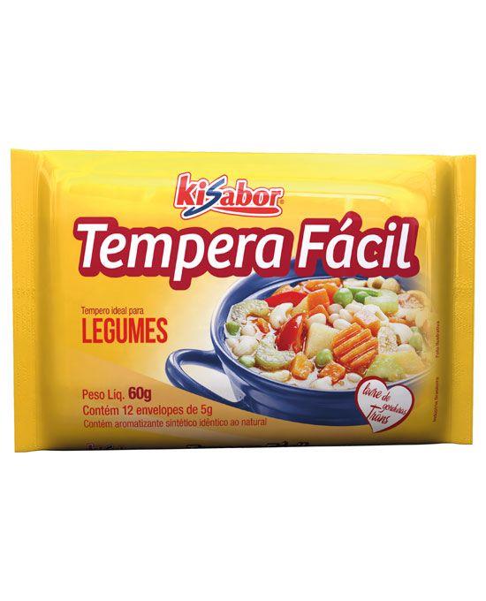 Tempera Fácil Legumes